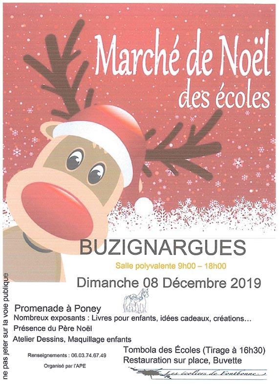 Marché de Noël à Buzignargues