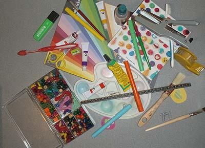 Illustration loisirs créatifs